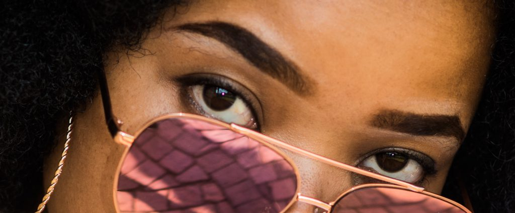 image-of-woman-with-sunglasses-and-dramatic-brows